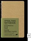A6 Slim Blank DW Kraft Paper / 無罫 DWクラフト