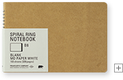 B6 Blank MD Paper White / 無罫 MDホワイト