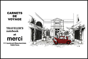 """トラベラーズノートと仲間たち×merci コラボイベント """"CARNETS DE VOYAGE"""" TRAVELER'S notebook at merci"""