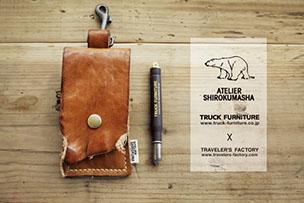 「TRUCK」の雑貨ブランド 「シロクマ舎」 がファクトリーにやってくる!【12月3日~12月30日】