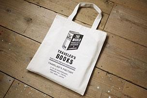 コットンバッグ TRAVELER'S BOOKS