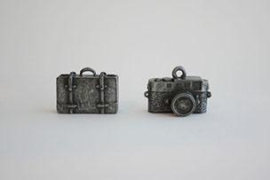 オリジナルチャーム トランク・カメラ