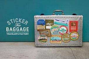 スーツケースのカスタマイズに!  バゲッジステッカー【12月17日発売】