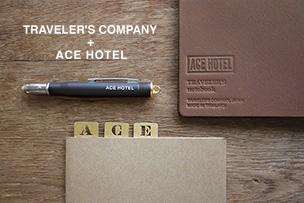 TRAVELER'S COMPANY + ACE HOTEL【12月5日発売】