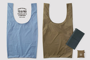TO&FRO × TRC コンパクトバッグのMサイズ登場 【11月25日発売】